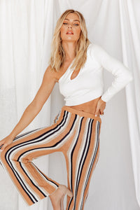 Waverly Striped Knit Pants
