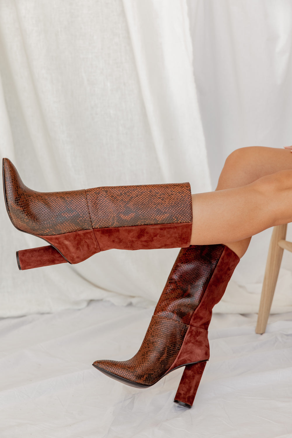 42 Gold Brunette Kolby Boot
