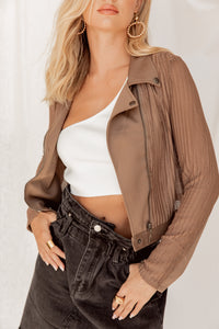 No Such Thing Moto Biker Jacket