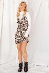 Let's Be Wild Mini Dress