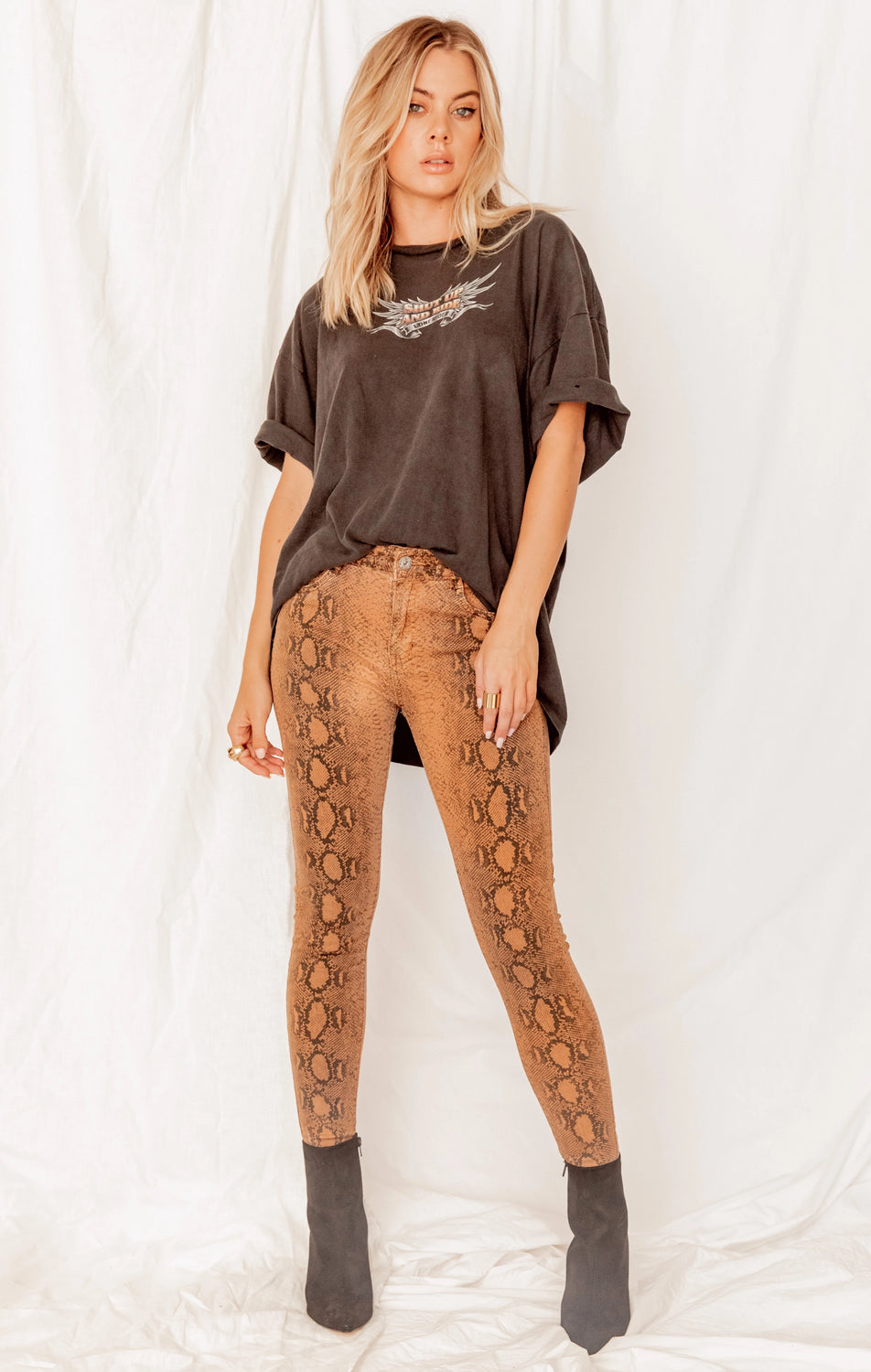 Desert Way Reptile Skinny Pants