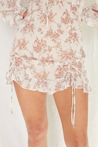 Catalina Floral Puff Sleeve Dress