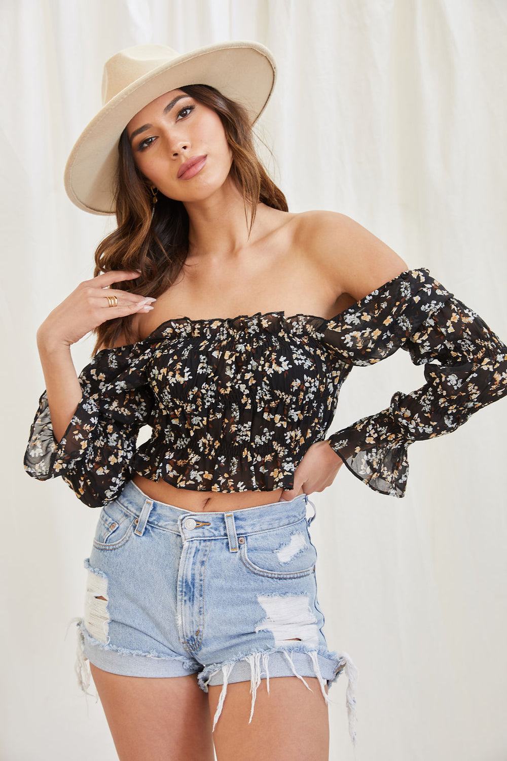 All To Myself Floral Top