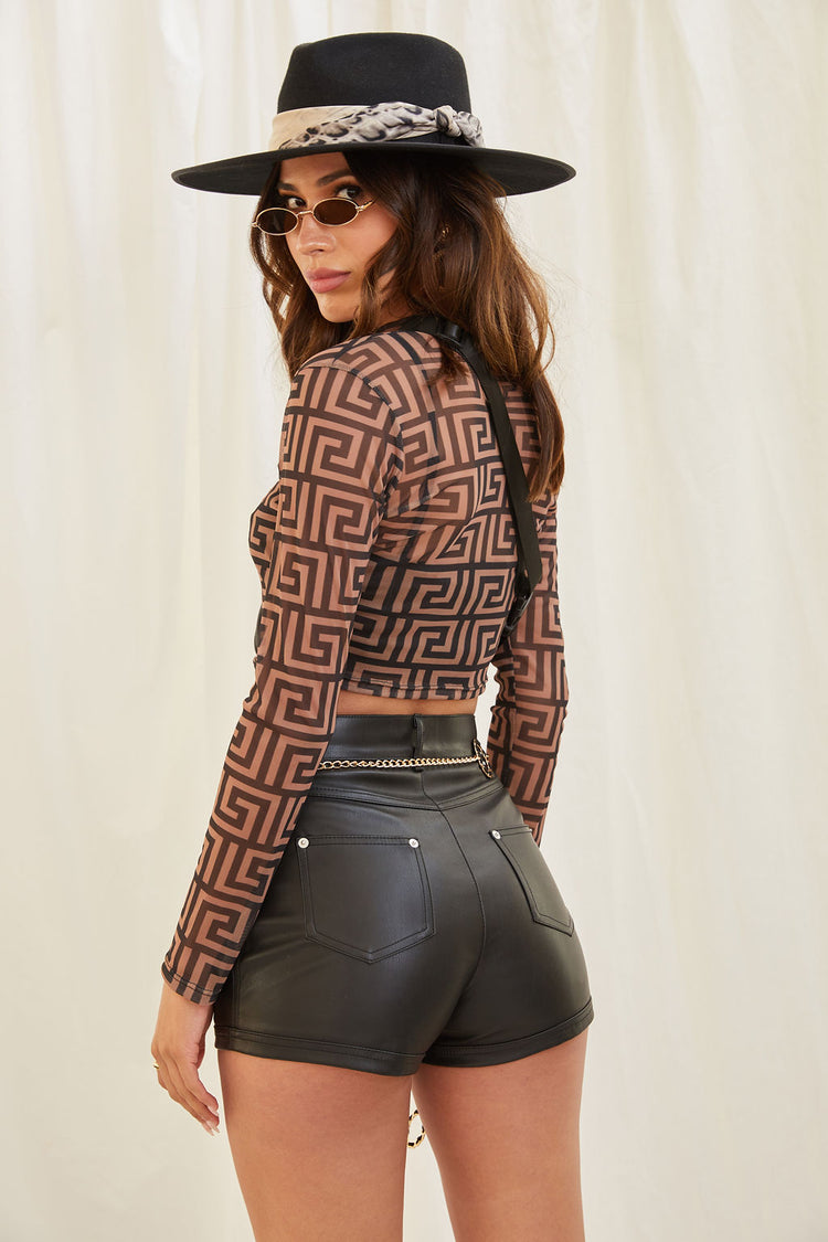After Hours Geometric Mesh Top