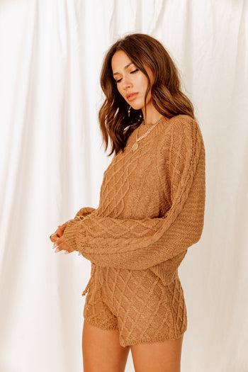 Aspen Escape Latte Sweater