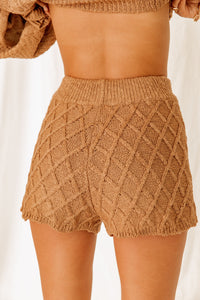 Aspen Escape Latte Shorts