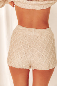 Aspen Escape Cream Shorts