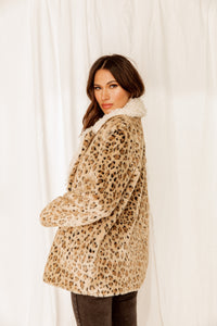 Not Your Groupie Leopard Coat