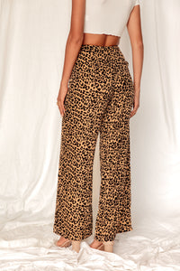 In The Moment Cheetah Wide Leg Pant
