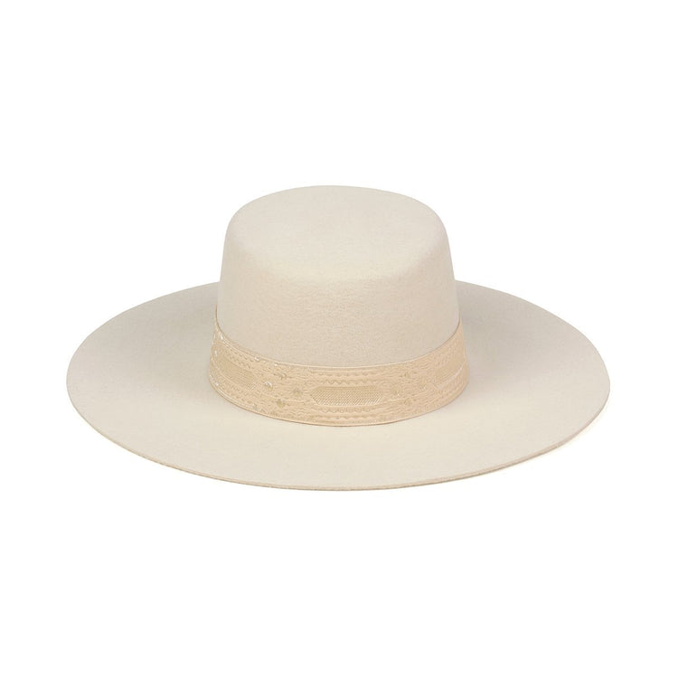 Gold Sierra Boater Hat