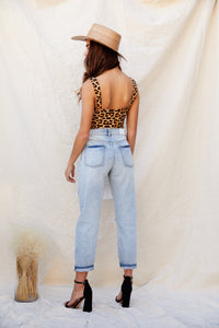 Nico High Rise Mom Jeans