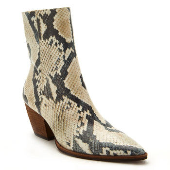 Natural Snake Matisse Caty Bootie