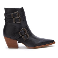 Matisse Harvey Black Buckle Boot