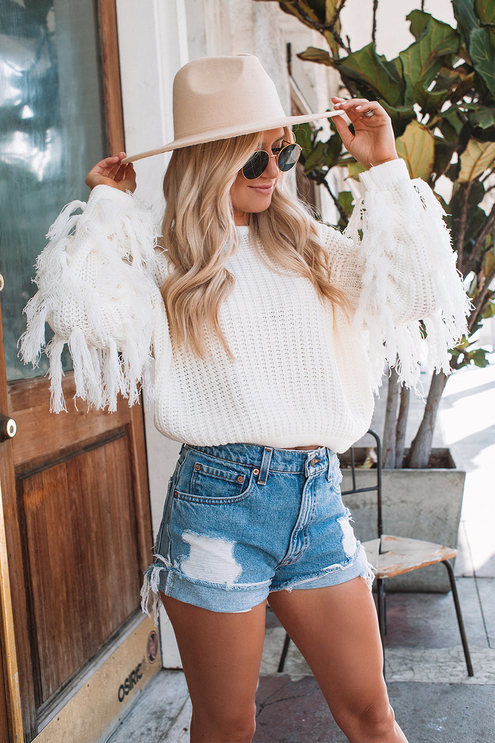 Rodeo Fringe Sweater