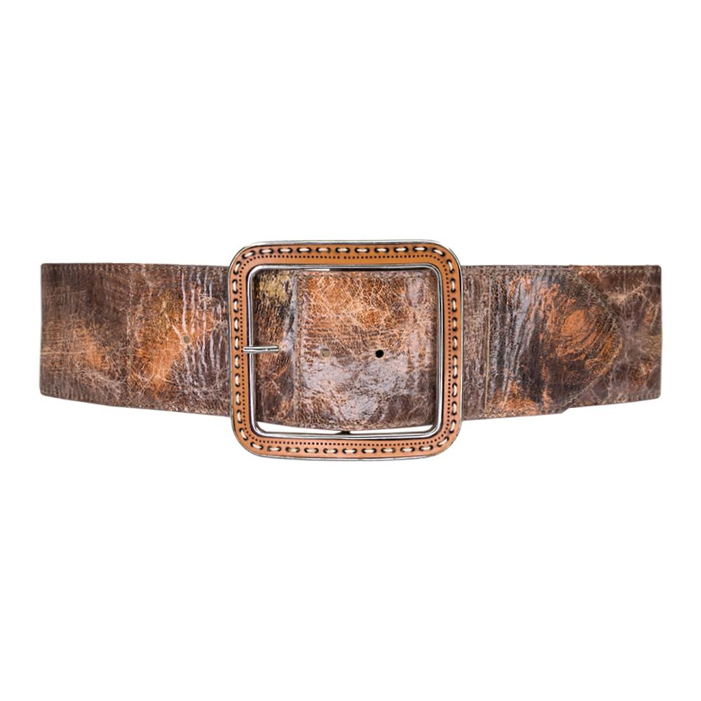 Marley Brown Leather Waist Belt