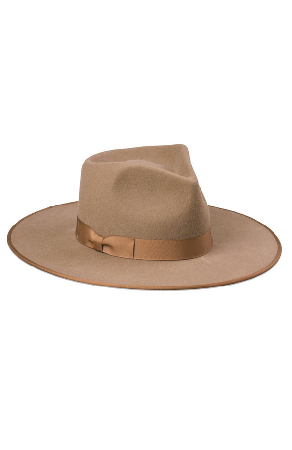 Lack of Color Teak Rancher Fedora Hat