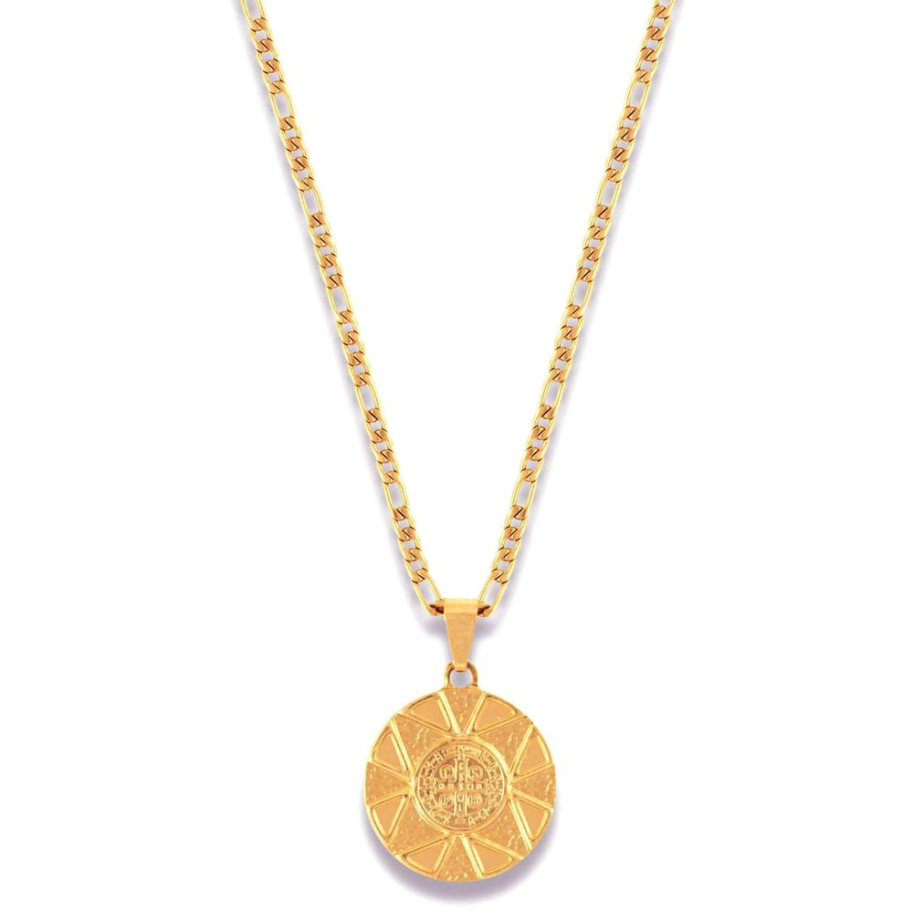 Saint Coin Necklace