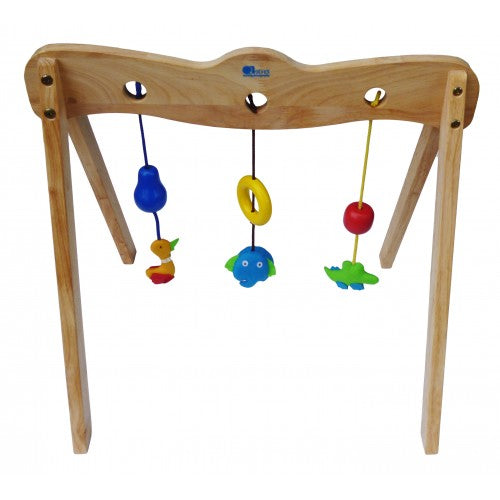 Qtoys - Wooden Baby Gym