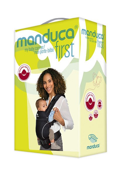 MANDUCA First - Pure Cotton Baby Carrier - Mint - Eco Child