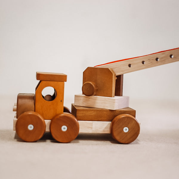 Qtoys - Wooden Crane, , Best Sellers, cf-type-vehicles, cf-type-wooden-toys, playtime, QTOYS, toys, Vehicles, Wholesale-HIDE, Wooden Toys, Toys, wooden toys for babies, baby toys, newborn toys, baby wooden toys, wooden toys, sustainable, Eco friendly, environment friendly, Eco, Natural, eco products in Australia