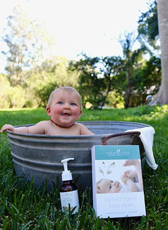 Natures Child -  Reusable Organic Baby Wipes - Eco Child