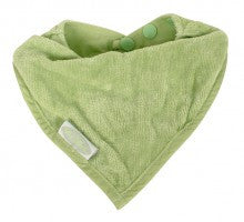 Silly Billyz - Organic Cotton Bandana Bib - Sage - 2 Pack