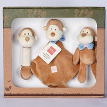 MiYim - Certified Organic Animal Gift Set - Monkey - Eco Child