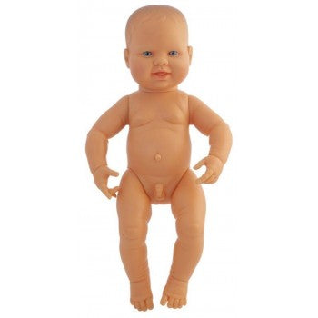Miniland - Anatomically Correct Baby Doll 42cm - Caucasian Boy ( Undressed )