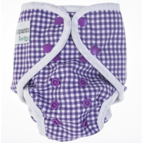 Seedling Baby - Paddle Pants - Grape - Eco Child