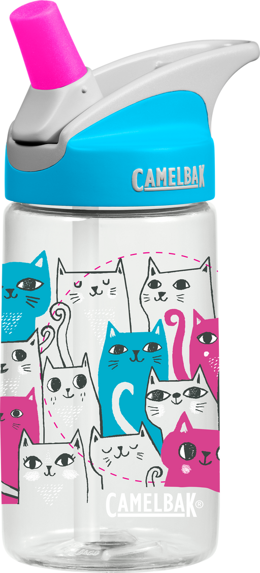 CamelBak Kids- Eddy Kids Water Bottles 0.4L - Cats
