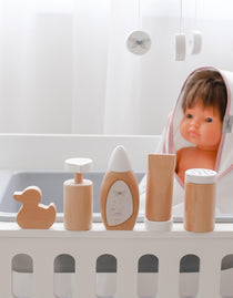 Astrup - Wooden Doll Care & Bathing Set - Eco Child