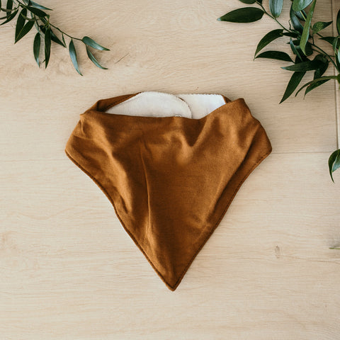 Snuggle Hunny Kids - Bronze Dribble Bib - Eco Child