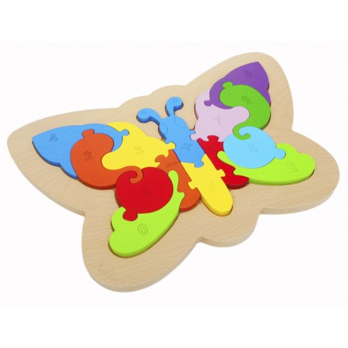 Qtoys -  Butterfly Number Puzzle