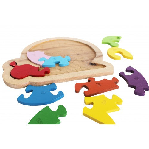 Qtoys -  Snail Number Puzzle