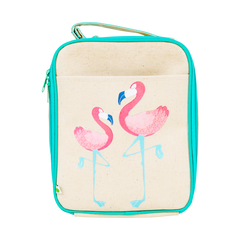 Apple & Mint - Lunch Bag - Flamingo