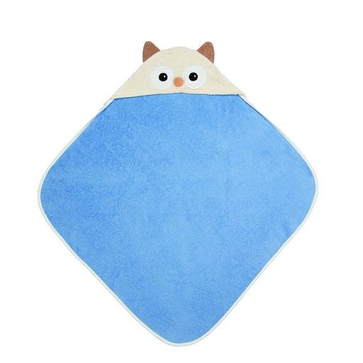 Apple Park - Hooded Towel - Owl