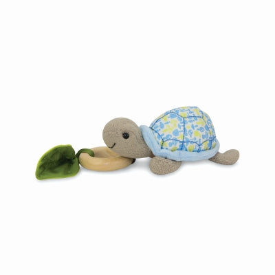 Apple Park - Crawling Critter Teething Toy - Turtle Blue