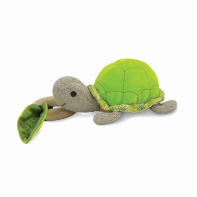 Apple Park - Crawling Critter Teething Toy - Turtle Green