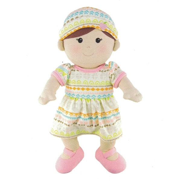 Apple Park - Organic Toddler Doll - Girl