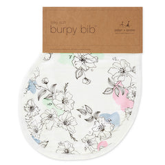 Aden and Anais - Silky Soft Burpy Bib - Meadowlark