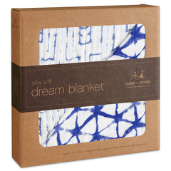 Aden and Anais - Silky Soft Dream Blanket - Indigo