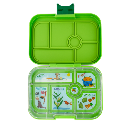 Yumbox - Original - 6 Compartment - Avocado Green