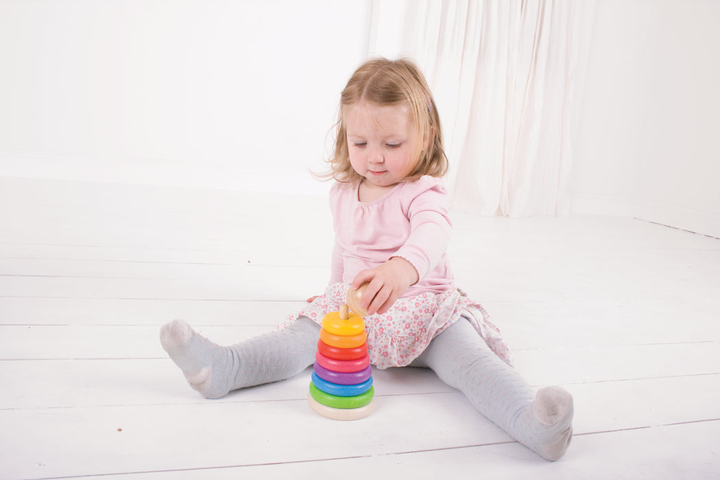 Bigjigs Toys - First Rainbow Stacker