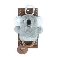 OB Designs - Dingaring Teething Rattle - Kelly Koala