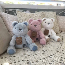OB Designs - Huggies - Beau Bear  - Blue