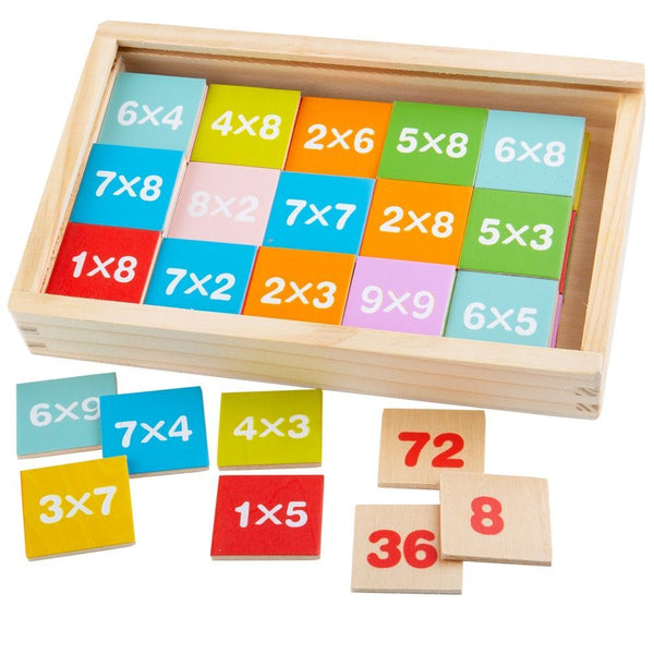 Bigjigs Toys - Times Table Box, , activity, Best Sellers, Bigjigs, educational, Toys, wooden toys, Toys, wooden toys for babies, baby toys, newborn toys, baby wooden toys, wooden toys, sustainable, Eco friendly, environment friendly, Eco, Natural, eco products in Australia