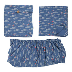 Tiny Twig -  Bassinet Sheet Set – Little Fish