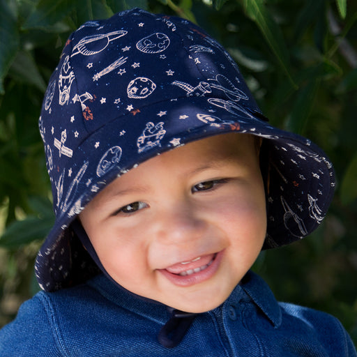 Bedhead Hats - Boys Baby Bucket Hat - Space