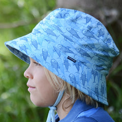 Bedhead Hats - Kids Bucket Hat with Strap - Koi