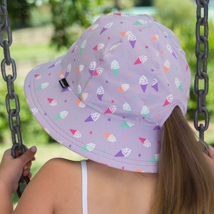 Bedhead Hats - Girls Bucket Hat - Ice Cream